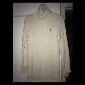 Ralph Lauren Sport Turtleneck Sweater Dress